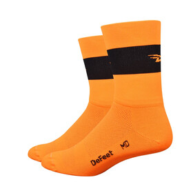 DeFeet Aireator Team DeFeet Cykelstrømper orange/sort